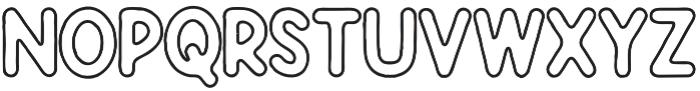 Javatages Line otf (400) Font UPPERCASE