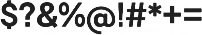 Javiera Bold otf (700) Font OTHER CHARS