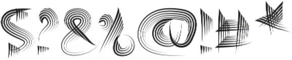 Jaxcos otf (400) Font OTHER CHARS