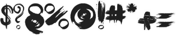 JayBird ttf (400) Font OTHER CHARS
