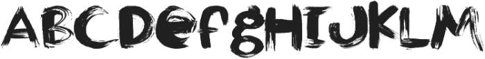 JayBird ttf (400) Font UPPERCASE