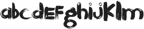 JayBird ttf (400) Font LOWERCASE