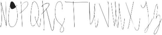 Jaya Ridge ttf (400) Font UPPERCASE