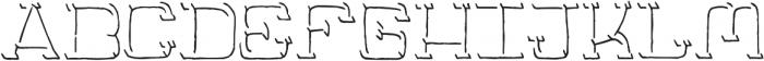 Jaywalk-Shadow-Only ttf (400) Font LOWERCASE