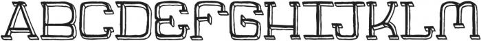 Jaywalk-With-Shadow ttf (400) Font UPPERCASE