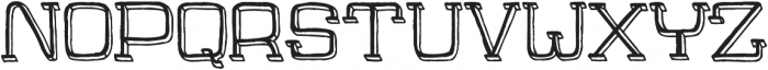 Jaywalk-With-Shadow ttf (400) Font LOWERCASE