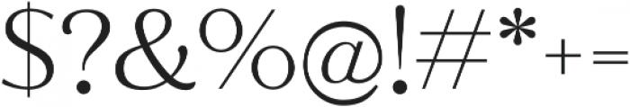 Jazmin Alt Light otf (300) Font OTHER CHARS
