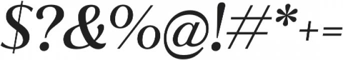 Jazmin Alt Medium It otf (500) Font OTHER CHARS