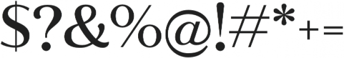 Jazmin Alt Medium otf (500) Font OTHER CHARS