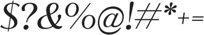 Jazmin Alt Regular It otf (400) Font OTHER CHARS