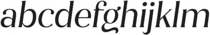 Jazmin Alt Regular It otf (400) Font LOWERCASE