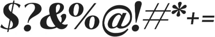 Jazmin Bold It otf (700) Font OTHER CHARS