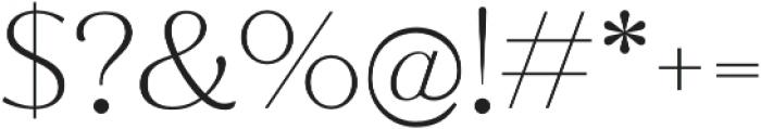 Jazmin ExtraLight otf (200) Font OTHER CHARS