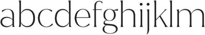 Jazmin ExtraLight otf (200) Font LOWERCASE