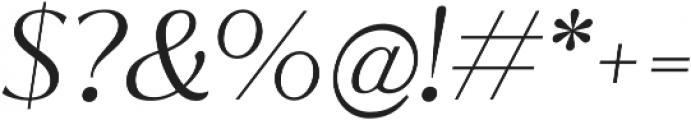 Jazmin Light It otf (300) Font OTHER CHARS