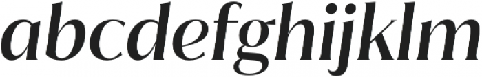 Jazmin Medium It otf (500) Font LOWERCASE