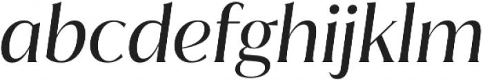 Jazmin Regular It otf (400) Font LOWERCASE