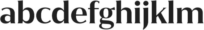 Jazmin SemiBold otf (600) Font LOWERCASE