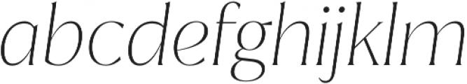 Jazmin Thin It otf (100) Font LOWERCASE