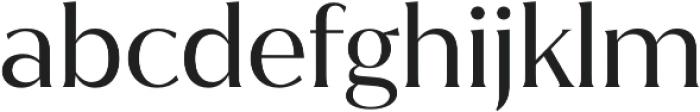 Jazmin otf (400) Font LOWERCASE