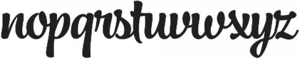 Jazz Script 1 Bold otf (700) Font LOWERCASE