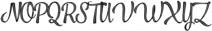 Jazz Script 2 otf (400) Font UPPERCASE