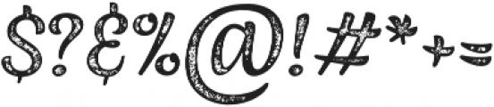 Jazz Script 3 Caps otf (400) Font OTHER CHARS