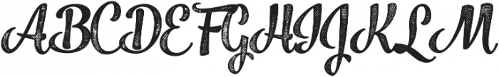 Jazz Script 4 Bold otf (700) Font UPPERCASE