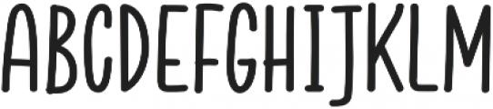 Jazzling Sans DemiBold otf (600) Font UPPERCASE