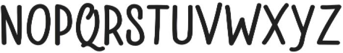 Jazzling Sans DemiBold otf (600) Font LOWERCASE