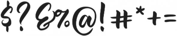 Jazzling Script-Upright otf (400) Font OTHER CHARS