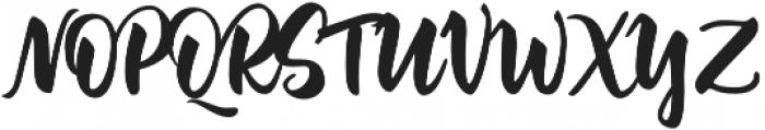 Jazzling Script-Upright otf (400) Font UPPERCASE
