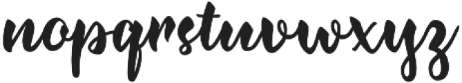 Jazzling Script-Upright otf (400) Font LOWERCASE