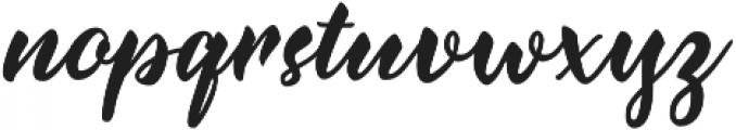 Jazzling Script otf (400) Font LOWERCASE
