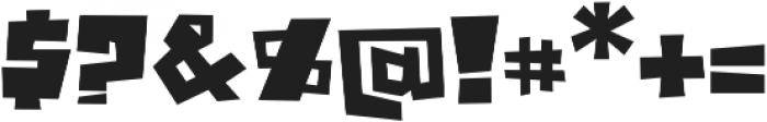 JazzyB Regular otf (400) Font OTHER CHARS