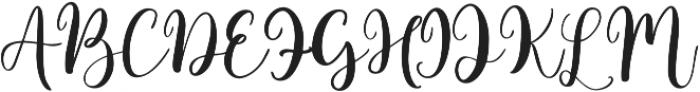 jackiro otf (400) Font UPPERCASE