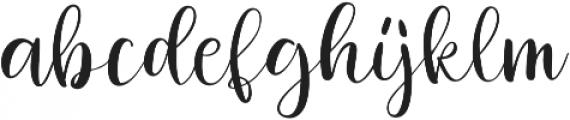 jackiro otf (400) Font LOWERCASE