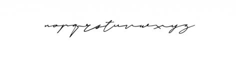 Janetta Silloam Font LOWERCASE