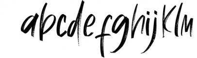 Jagernutt Brush Handwritten Font LOWERCASE