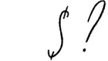Jasper Script Font OTHER CHARS