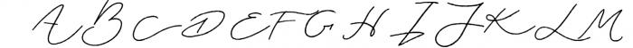 Jasper Script Font UPPERCASE