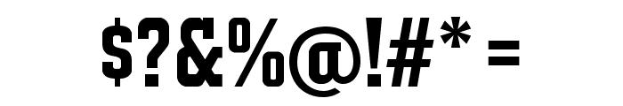 JACKPORT GREEK NCV Font OTHER CHARS