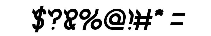 JAGUAR Italic Font OTHER CHARS
