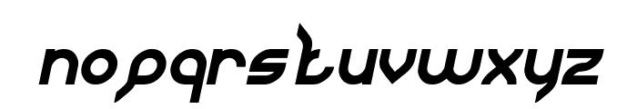 JAGUAR Italic Font LOWERCASE