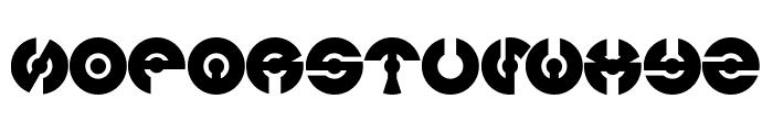 JAMES GLOVER Bold Font UPPERCASE