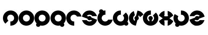 JAMES GLOVER Bold Font LOWERCASE