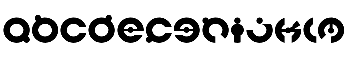 JAMES GLOVER-Light Font LOWERCASE