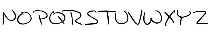 JAMI Font UPPERCASE