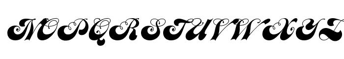 JANEScriptOpti Font UPPERCASE