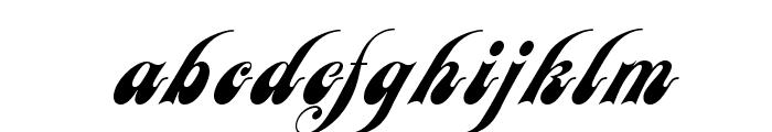 JANEScriptOpti Font LOWERCASE